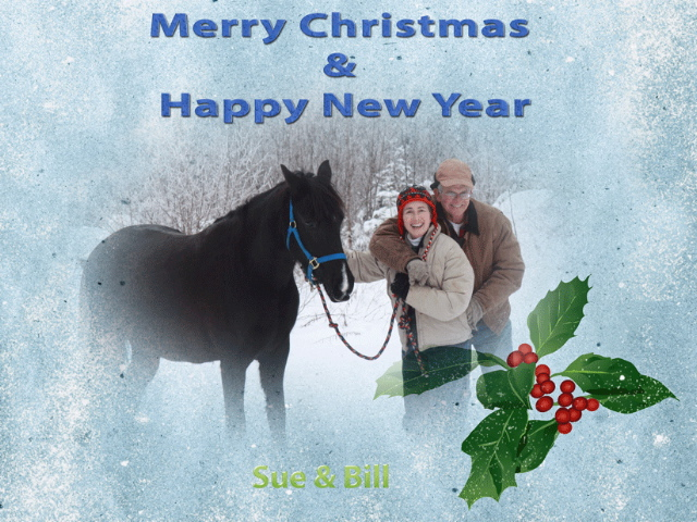 Bill & Sue Horsing Around